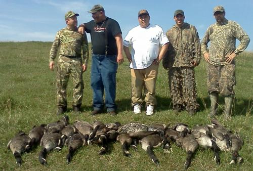 Guided Goose Hunting in Minnesota